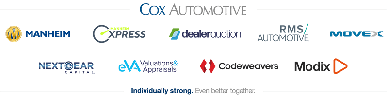 Cox Automotive - Individually strong, even better together.